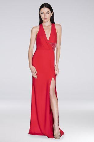 Long Sheath Tank Dress - Terani Couture