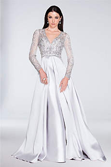Long Ballgown Long Sleeves Formal Dresses Dress - Terani Couture