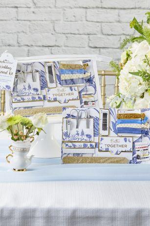 Blue Willow Wedding Survival Kit