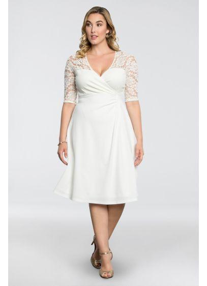 Lavish Lace Plus Size Dress Davids Bridal