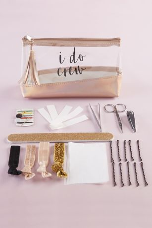 Rose Gold I Do Crew Survival Kit