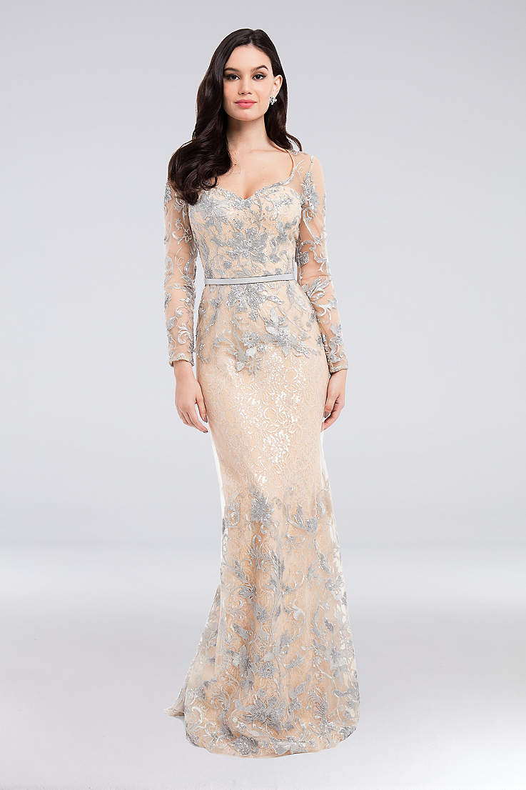 9df14849163 Long Sleeve Prom Dresses - 3 4 and Full
