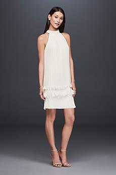Short Sheath Casual Wedding Dress - DB Studio