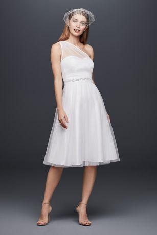 Short A-Line Wedding Dress - DB Studio