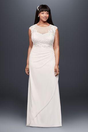 Long Sheath Wedding Dress - DB Studio