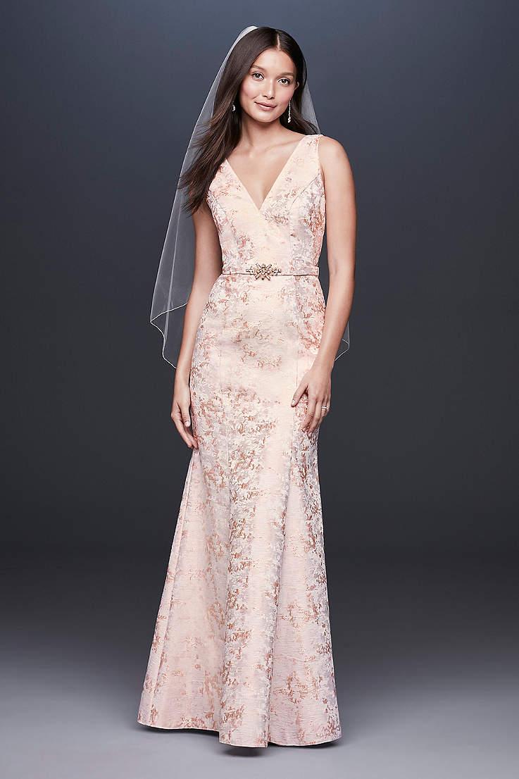 Long Sheath Wedding Dress Db Studio