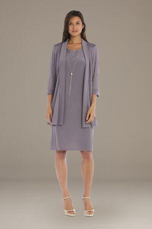 Short A-Line Jacket Dress - RM Richards