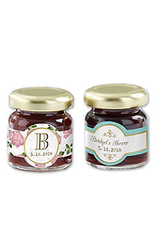 Personalized Tea Time Strawberry Jam Set of 12