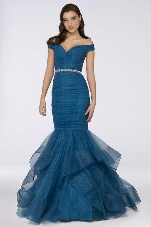 Long Mermaid/ Trumpet Dress - Terani Couture