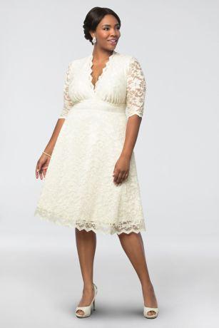Short Wedding Dress Kiyonna