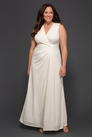 Long Sheath Tank Dress - Kiyonna
