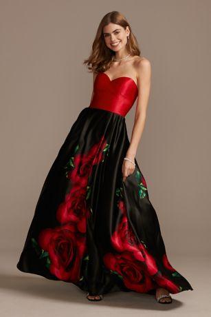 Structured Blondie Nites Long Bridesmaid Dress