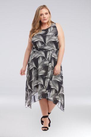 High Low A-Line Tank Dress - Karen Kane