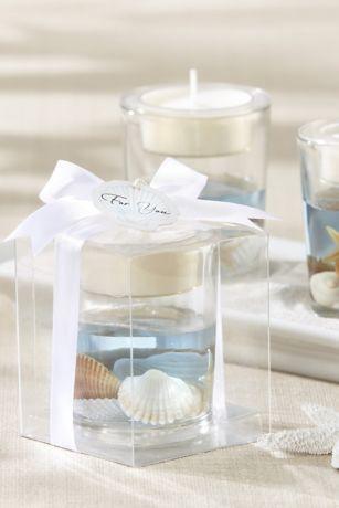 Seashell Gel Tea Light Holders
