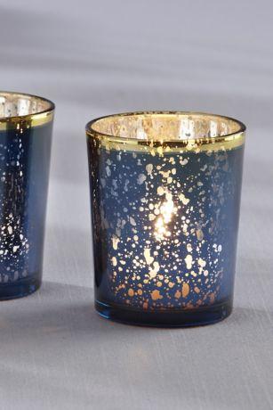 Mercury Glass Tea Light Holders
