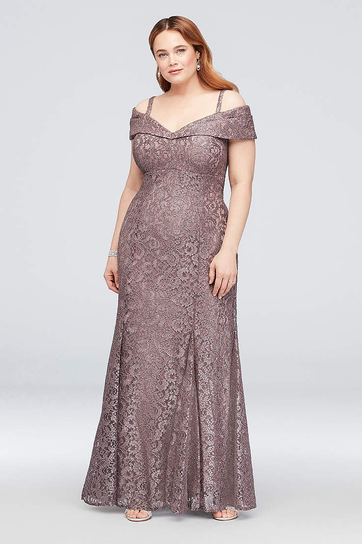 Plus Size Dresses In Sizes 14 30w For Special Occasions David S Bridal,Fall Petite Wedding Guest Dresses