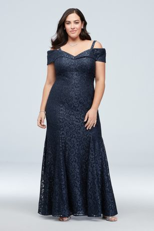 Long Mermaid/ Trumpet Off the Shoulder Dress - RM Richards