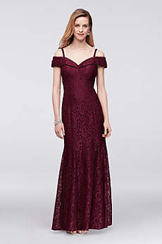 Soft & Flowy RM Richards Long Bridesmaid Dress