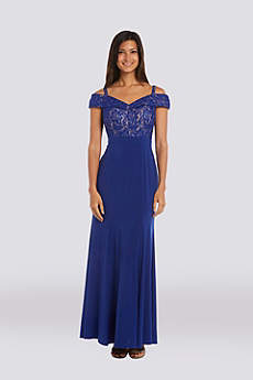 Long Off the Shoulder Formal Dresses Dress - RM Richards