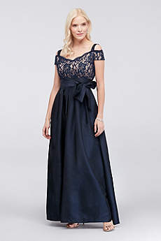 Long Ballgown Off the Shoulder Formal Dresses Dress - RM Richards