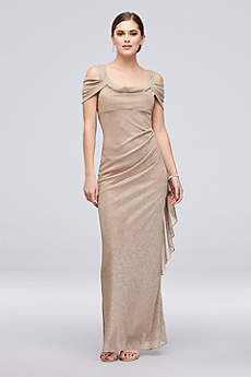 Long Sheath Off the Shoulder Formal Dresses Dress - RM Richards
