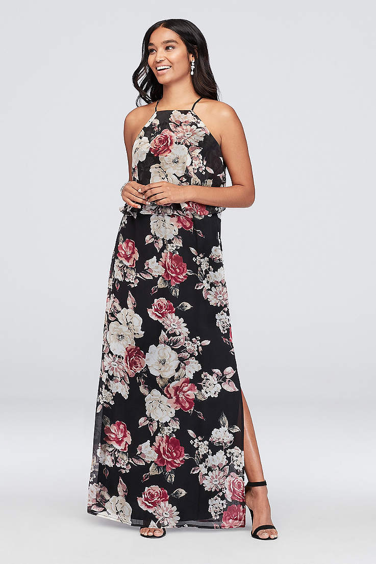 c299c095d8 Printed, Patterned, Floral Bridesmaid & Formal Dresses | David's Bridal