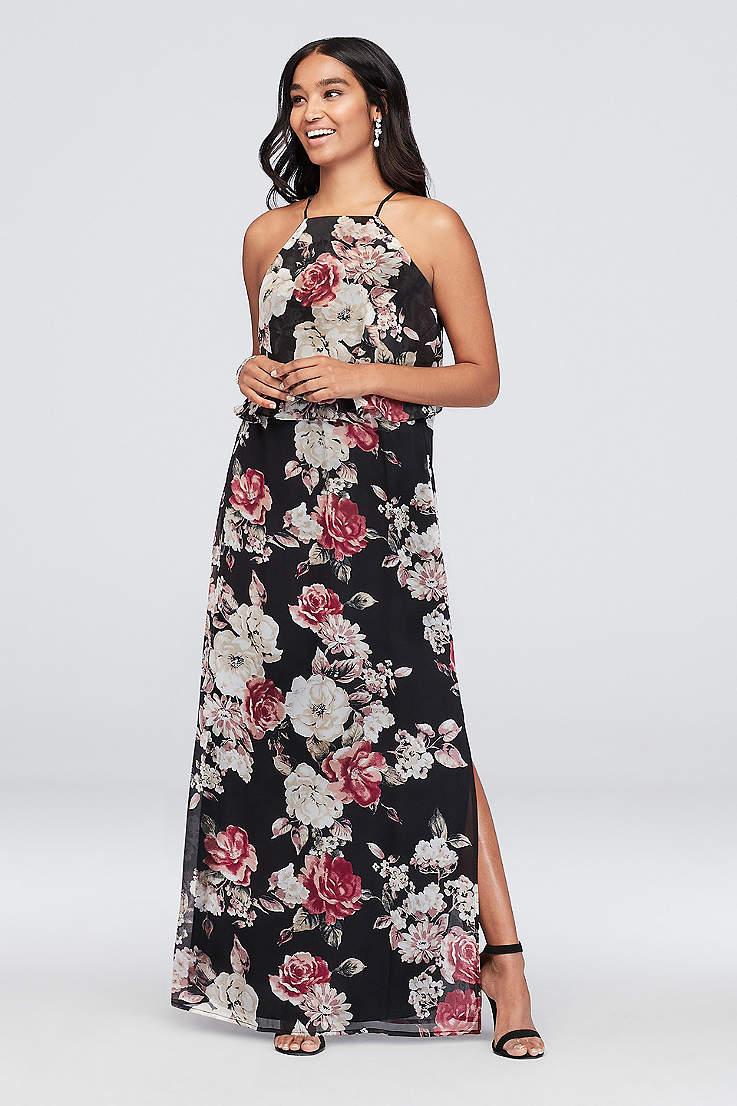 df3608498543f Printed, Patterned, Floral Bridesmaid & Formal Dresses | David's Bridal
