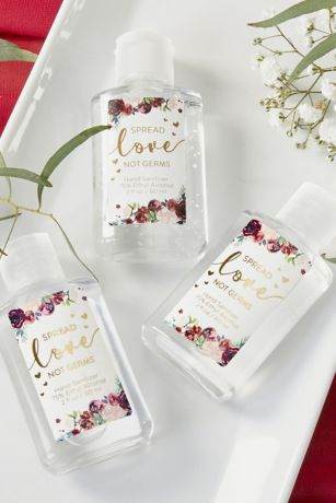 Spread Love Not Germs Hand Sanitizer Set