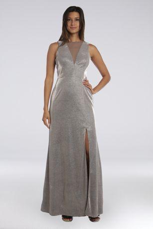 Long A-Line Sleeveless Dress - Morgan and Co