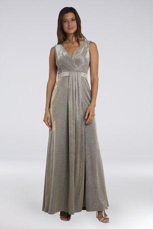 Long A-Line Tank Dress - Morgan and Co