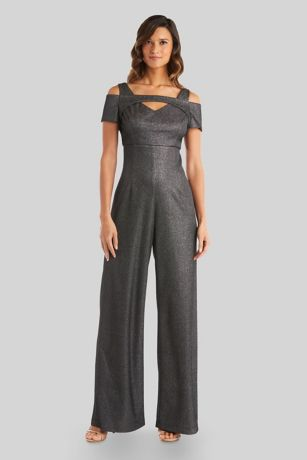 Long Jumpsuit Dress - Morgan and Co