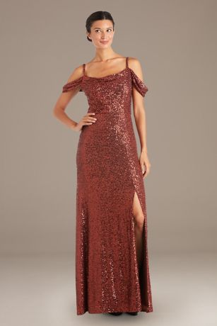 Long Fit and Flare Strapless Dress - RM Richards