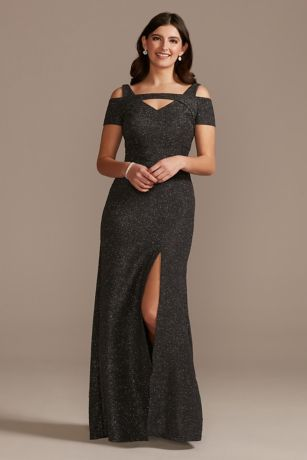 Long Mermaid / Trumpet Off the Shoulder Dress - RM Richards
