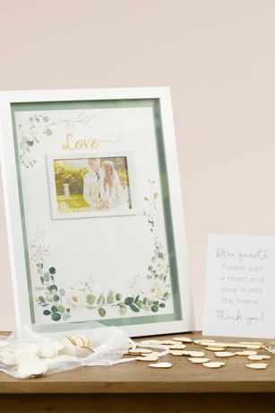 Botanical Garden Wedding Guest Book Alternative