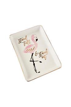 Flamingo Trinket Dish Set of 4