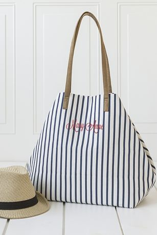 Personalized Overnight Tote