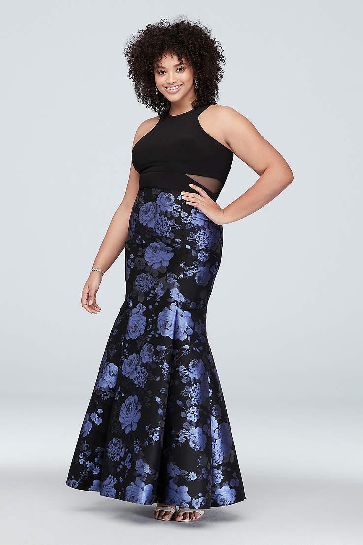 Cute Plus Size Prom Dresses