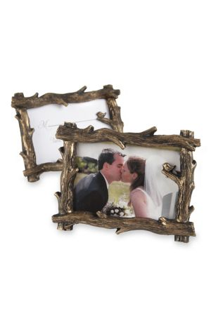 Scenic View Tree Branch Place Card Photo Holder