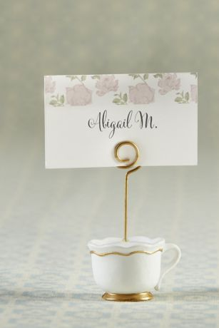 Tea Time Whimsy Place Card Holders