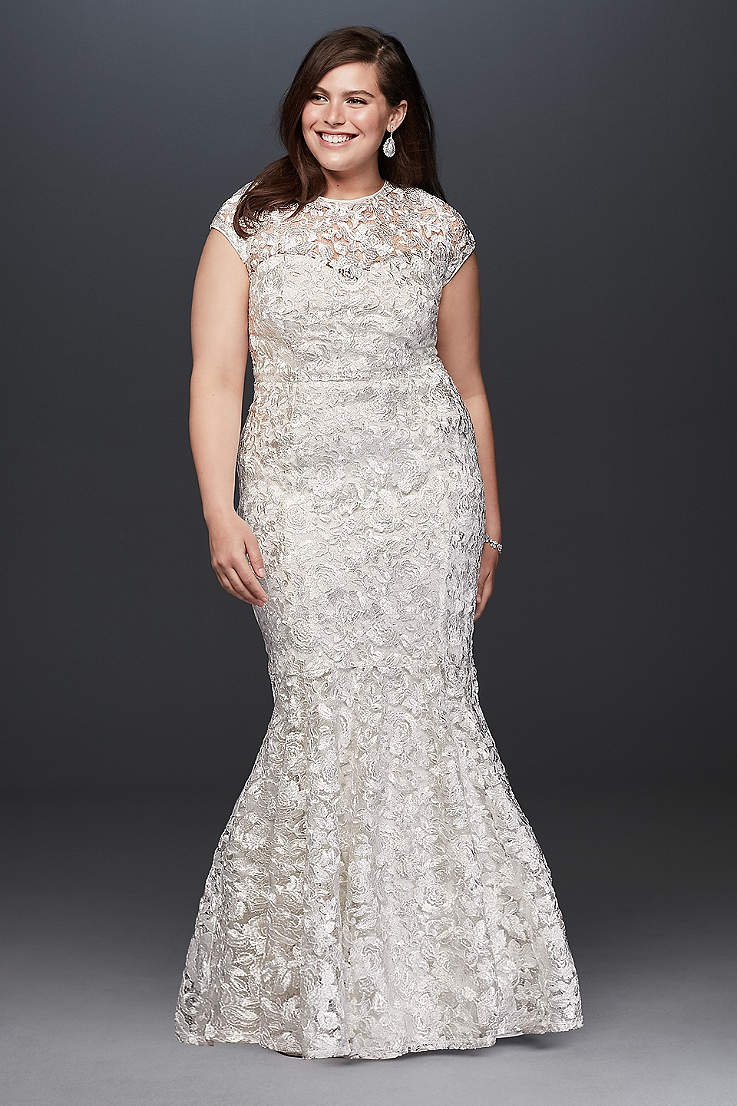 570643f1fd5a Plus Size Wedding Dresses & Bridal Gowns | David's Bridal
