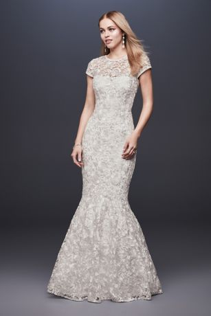 5e85f1b7e41b Cap Sleeve Wedding Dresses & Bridal Gowns | David's Bridal