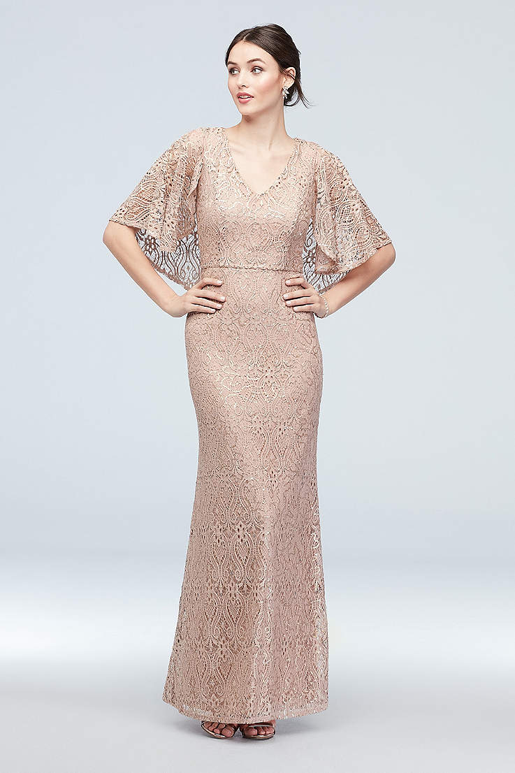 Marina Dresses Lace Sequin More Davids Bridal