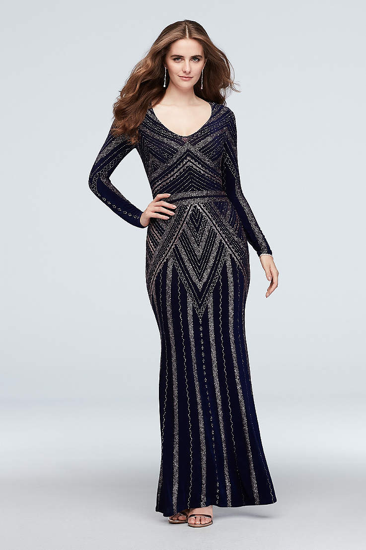 Long Sleeve Prom Dresses 34 And Full Lace Sleeves