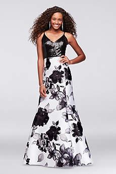 Long Mermaid/ Trumpet Spaghetti Strap Formal Dresses Dress - Marina