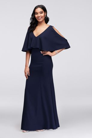 Long Mermaid/ Trumpet Off the Shoulder Dress - Marina
