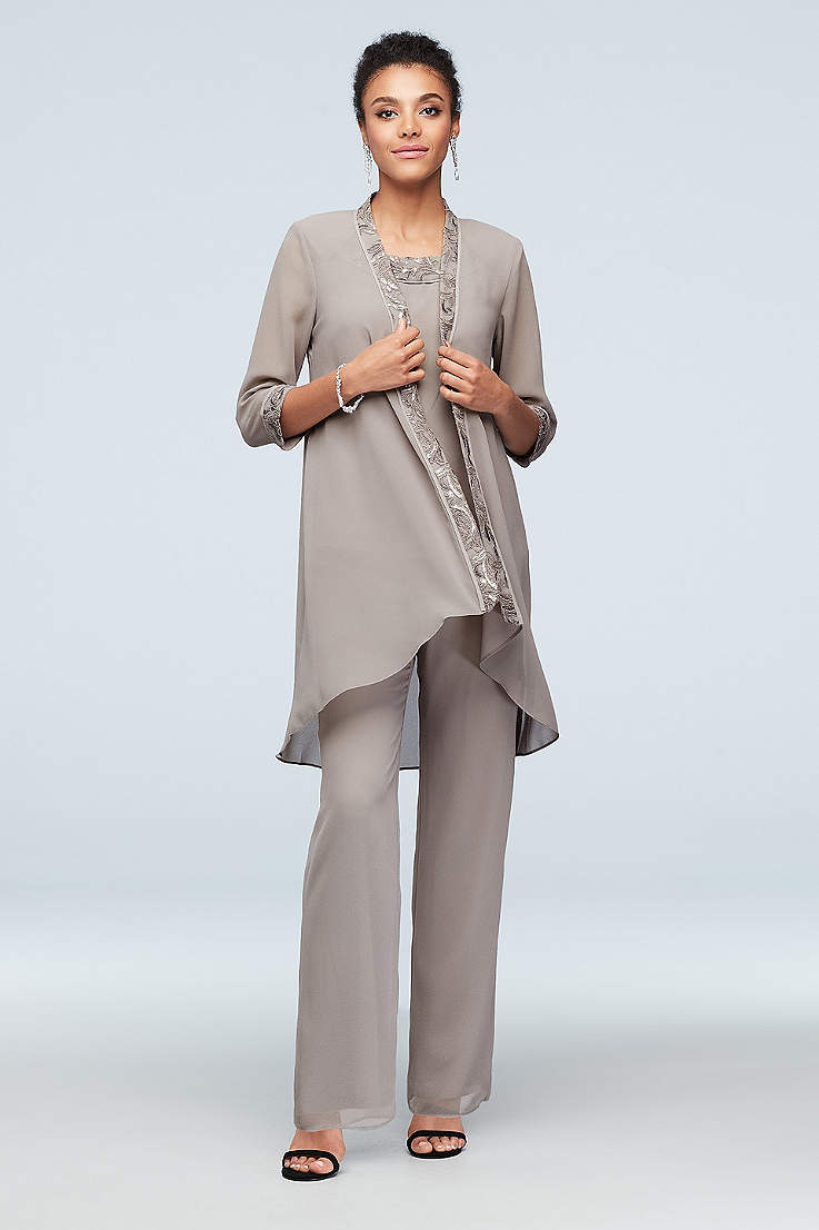 David's Mother of the Bride Pant Suit