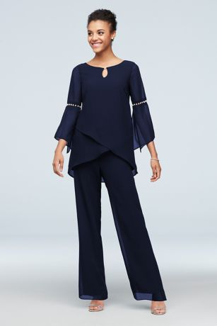 Long Jumpsuit Long Sleeves Dress - Le Bos