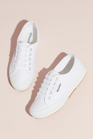 Superga White Sneakers and Casual (Superga Cotu 2750 Canvas Sneakers)