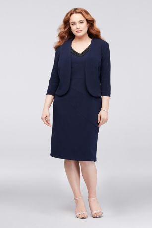 Short A-Line Jacket Dress - Le Bos
