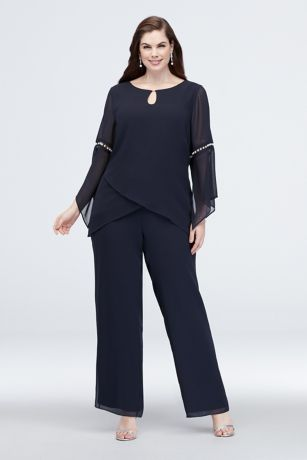 Long Jumpsuit Long Sleeves Dress - Le Bos